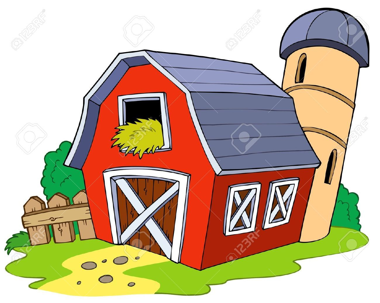 Wide barn clipart image transparent Red Barn Images, Stock Pictures, Royalty Free Red Barn ... image transparent
