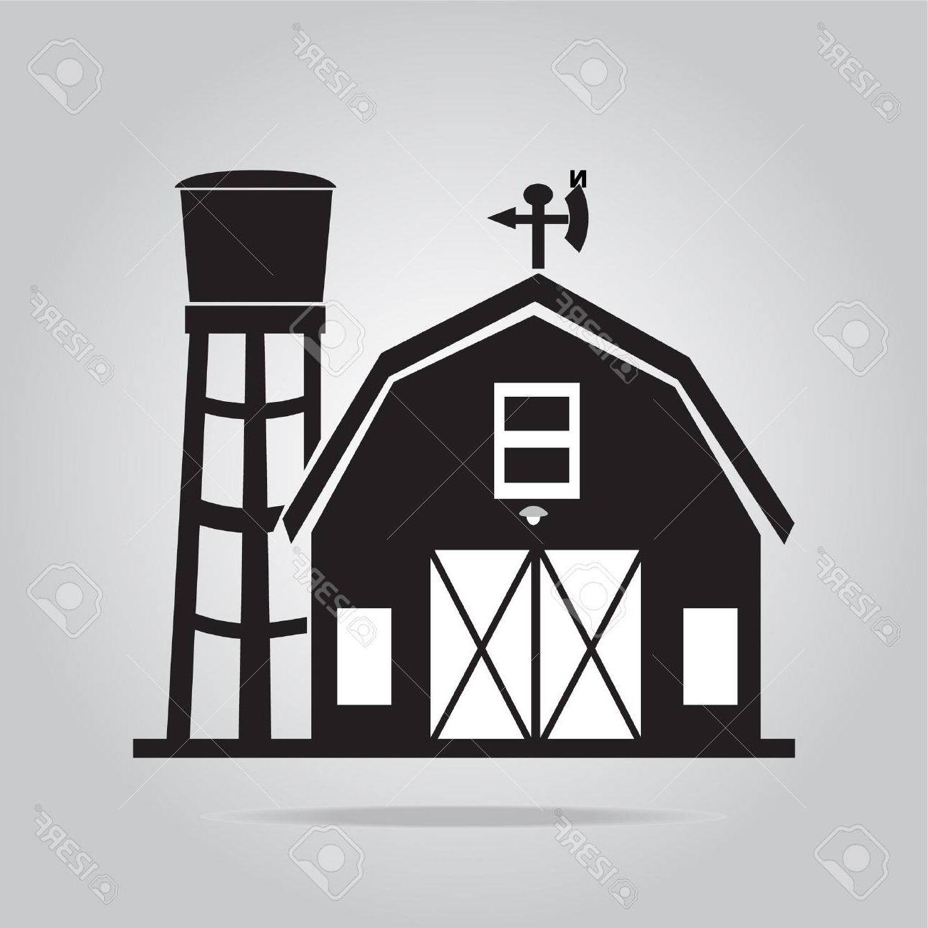 Wide barn clipart clipart freeuse download Best Barn Vector Drawing » Free Vector Art, Images, Graphics ... clipart freeuse download