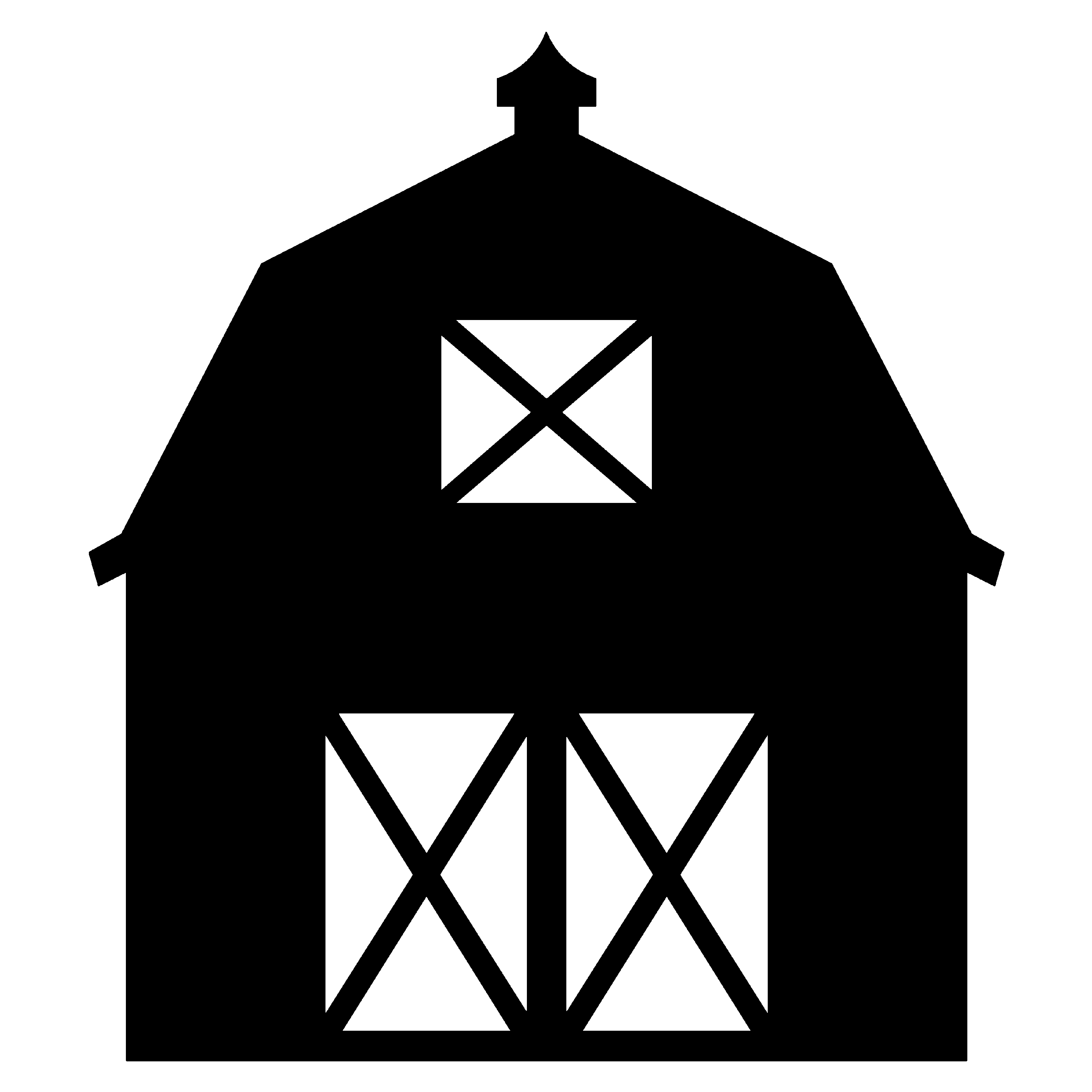 Wide barn clipart image freeuse stock Barn - Baby block inspiration for an upcoming baby shower ... image freeuse stock