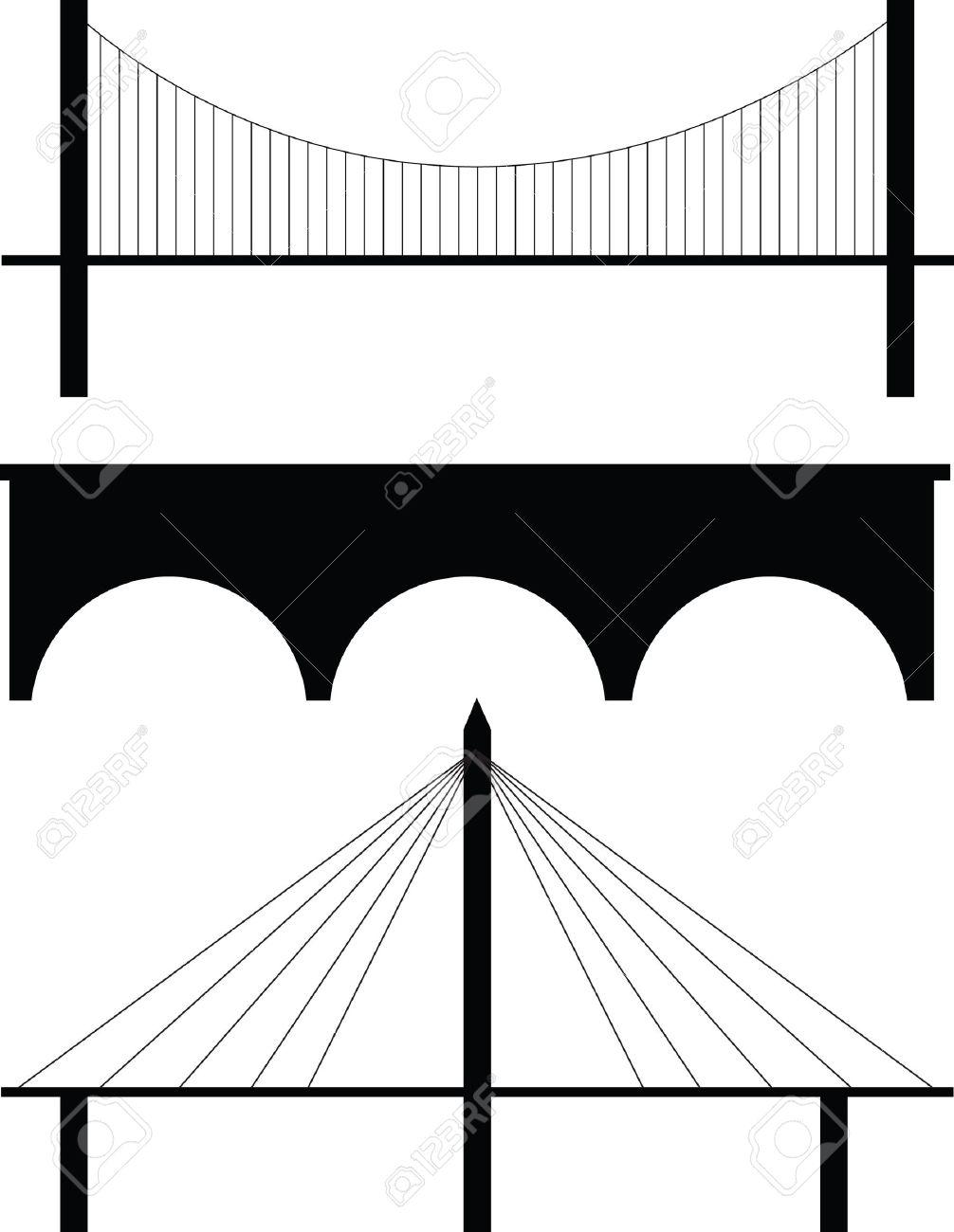 Wide bridge clipart clip art download Bridge Clipart Black And White | Free download best Bridge ... clip art download