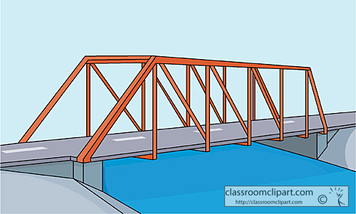 Wide bridge clipart image free library Wooden bridge wide long version clip art at clker vector ... image free library