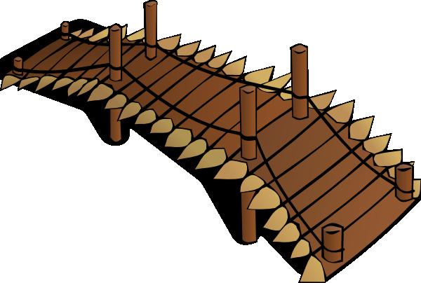 Wide bridge clipart svg royalty free download Wooden Bridge Clip Art at Clker.com - vector clip art online ... svg royalty free download