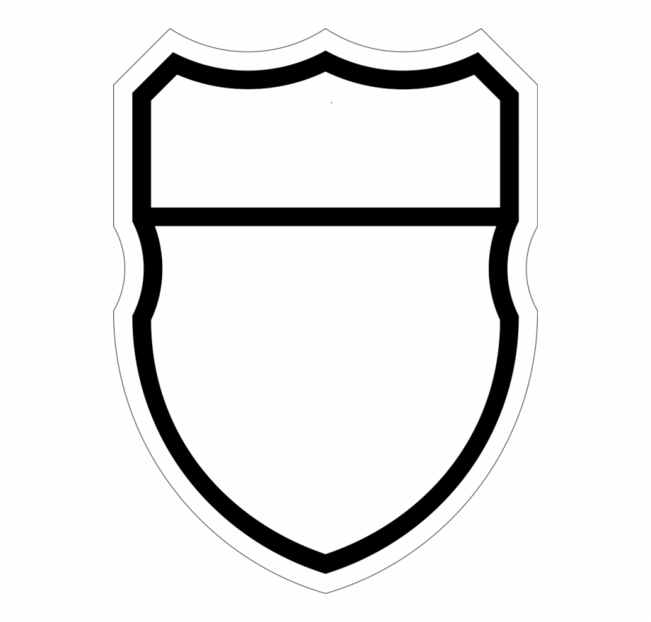 Wide crest clipart blank vector transparent stock Blank Shield Logo Png Images Transparent Png, Transparent ... vector transparent stock