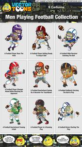 Wide recieer player clipart free image transparent download Men Playing Football Collection image transparent download