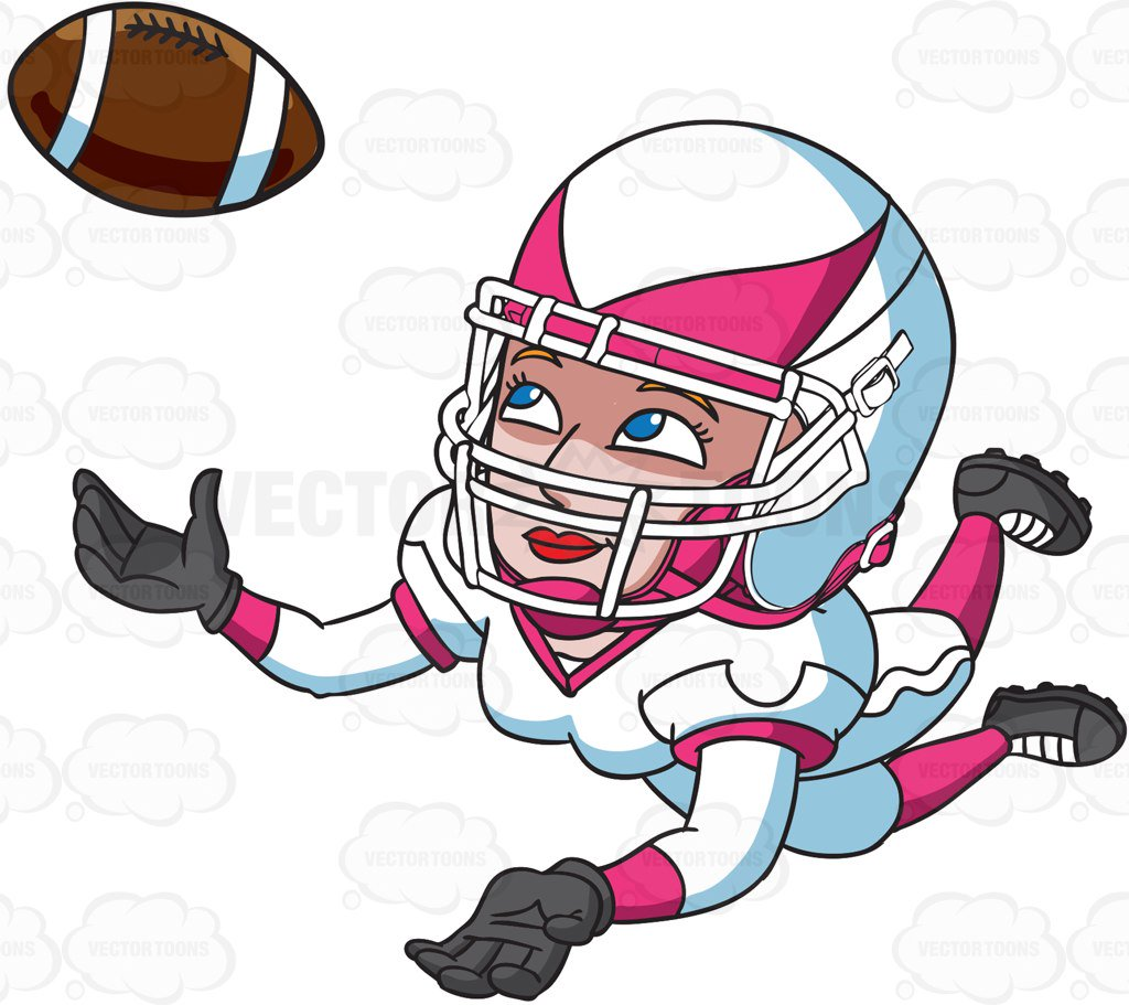 Wide recieer player clipart free picture free library Quarterback Clipart | Free download best Quarterback Clipart ... picture free library