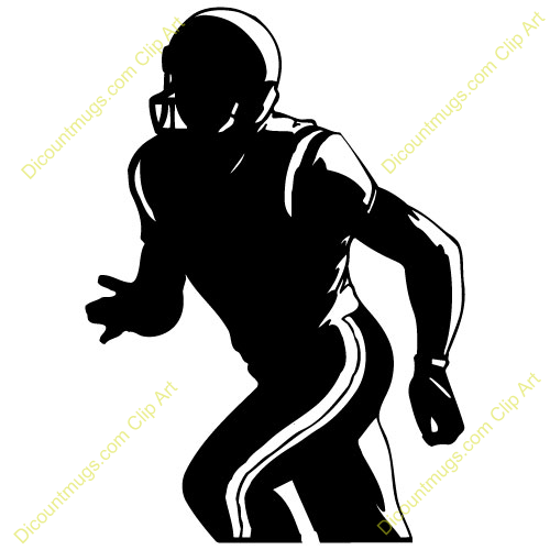 Wide recieer player clipart free picture football player wide receiver | Clipart Panda - Free Clipart ... picture