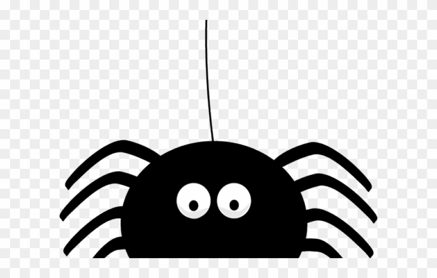 Wide spider clipart image Halloween Clipart Clipart Cute Halloween Spider ... image