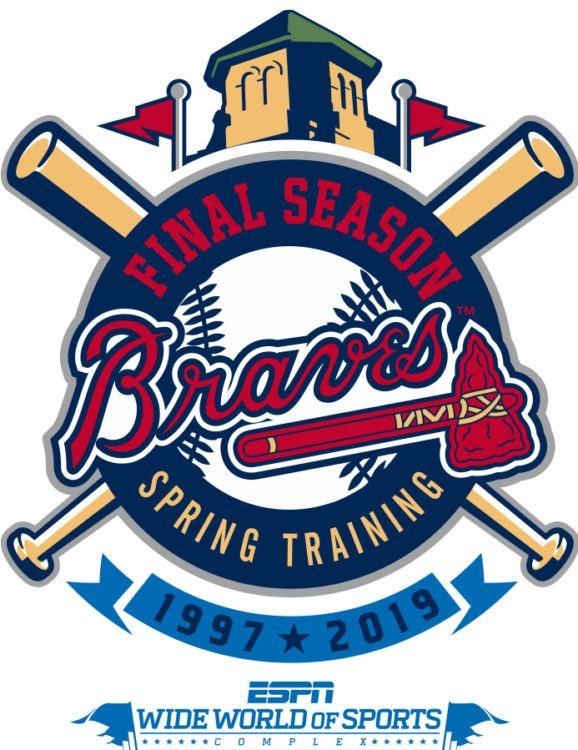 Wide world of sports clipart graphic free stock Final Atlanta Braves Spring Training Season at Disney ... graphic free stock