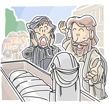 Widows and jesus clipart jpg free library Christian Clip Arts .net blog: Today\'s Christian clip art ... jpg free library