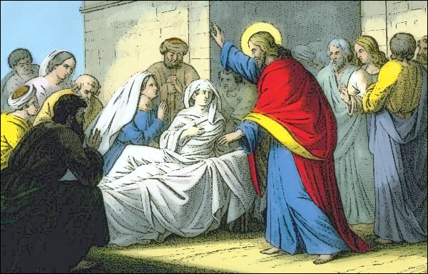 Widows and jesus clipart clipart free library Jesus Christ raising the widows son - /religion_mythology ... clipart free library