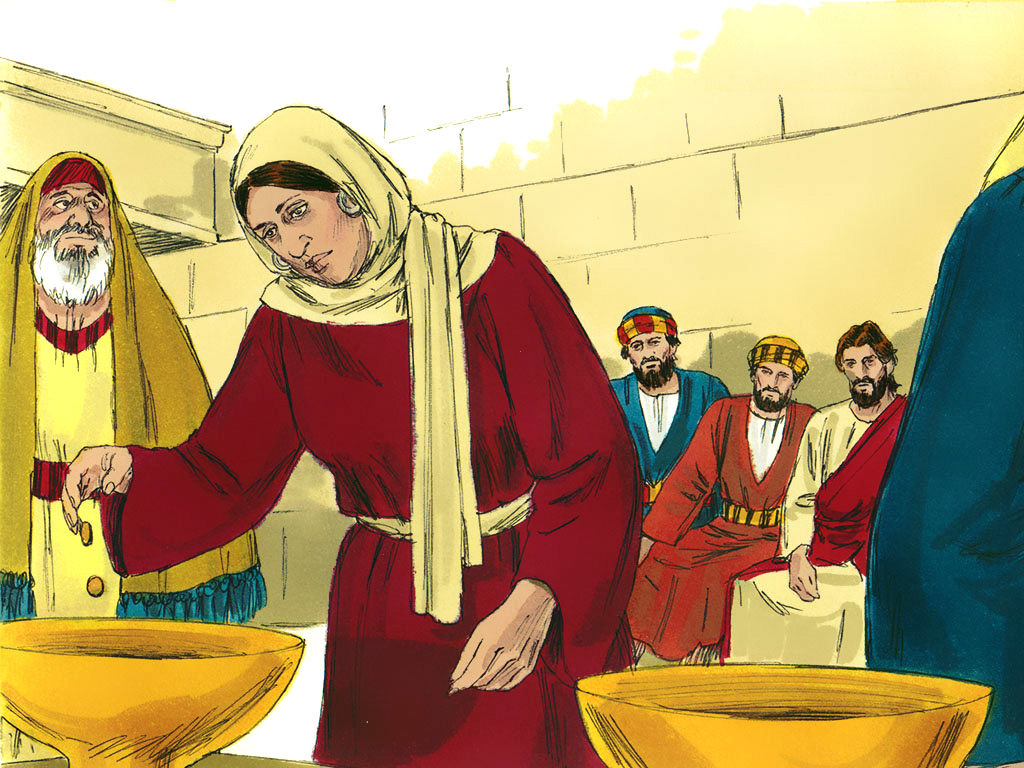Widows and jesus clipart picture transparent download FreeBibleimages :: The widow who gave everything :: The ... picture transparent download