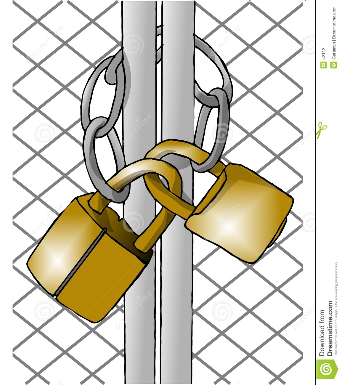 Wie erstelle ich cliparts image black and white Locked Gate Clipart - Clipart Kid image black and white
