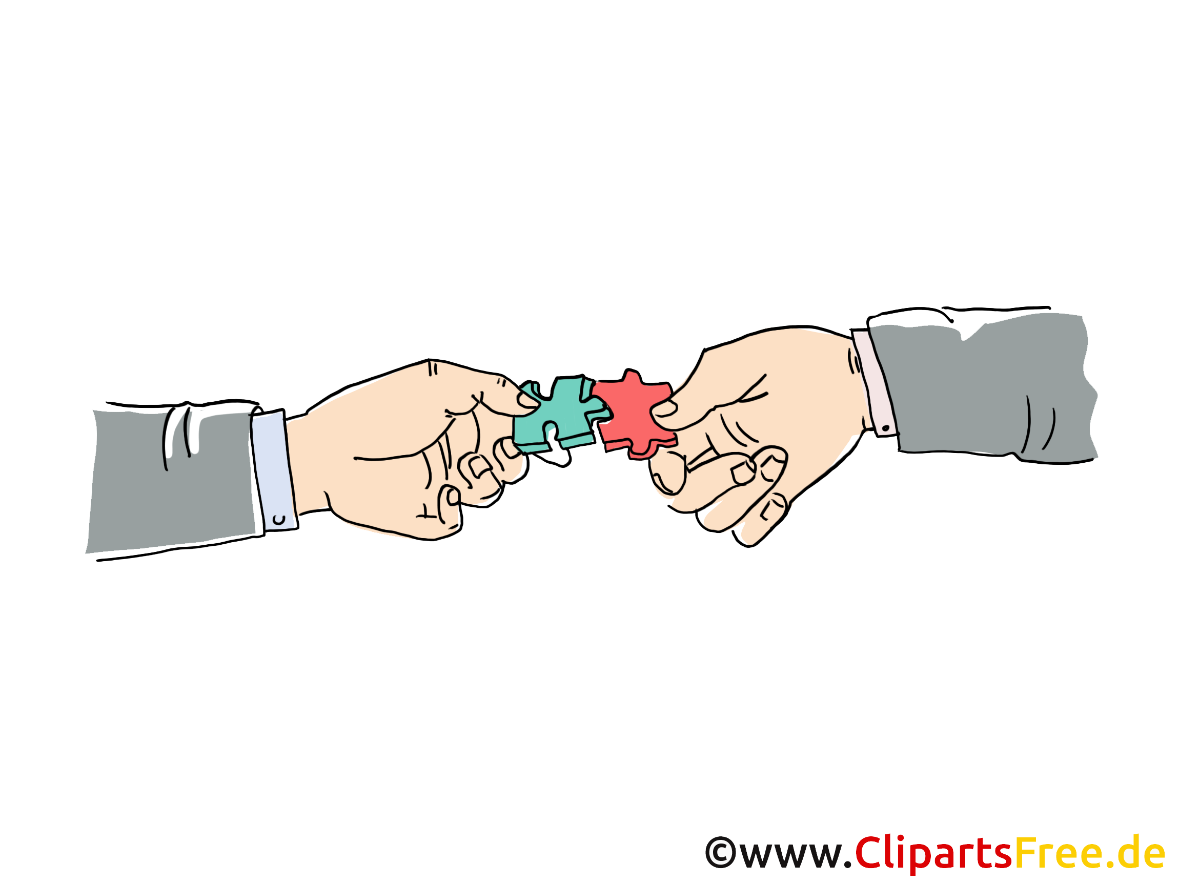 Wie fuge ich cliparts ein clip art transparent library Zwei Hände fügen Puzzle zusammen Clipart-Bild clip art transparent library