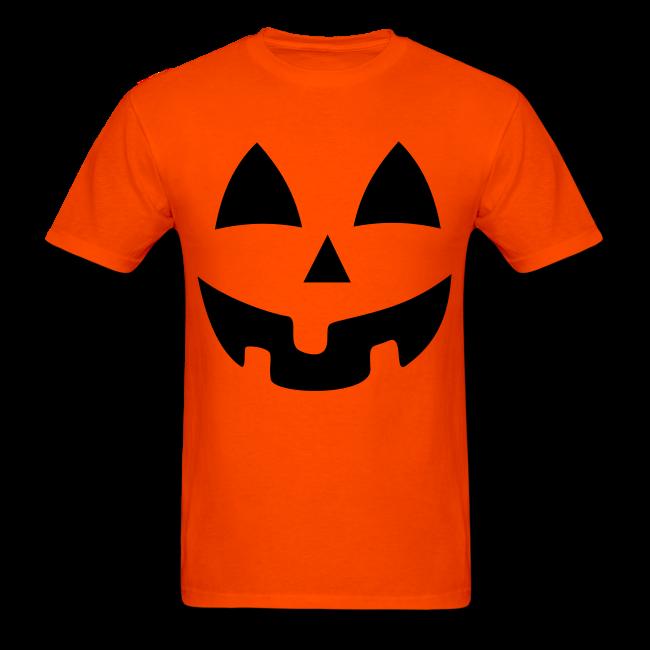 Wierd pumpkin clipart clipart freeuse Custom Graphic Tshirts | Halloween Jack-O-Lantern Pumpkin Face Shirt ... clipart freeuse
