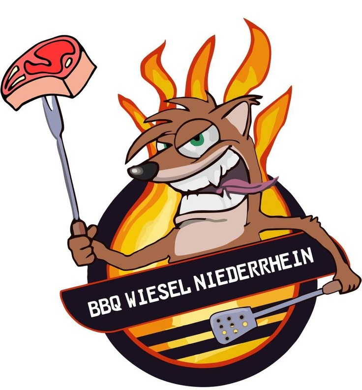Wiesel clipart jpg royalty free library BBQ Team Logo Wiesel Niederrhein   BBQ TEAM LOGOS   Clipart ... jpg royalty free library