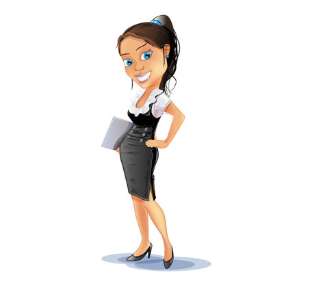 Woman boss clipart picture black and white Free Lady-Boss Cliparts, Download Free Clip Art, Free Clip ... picture black and white