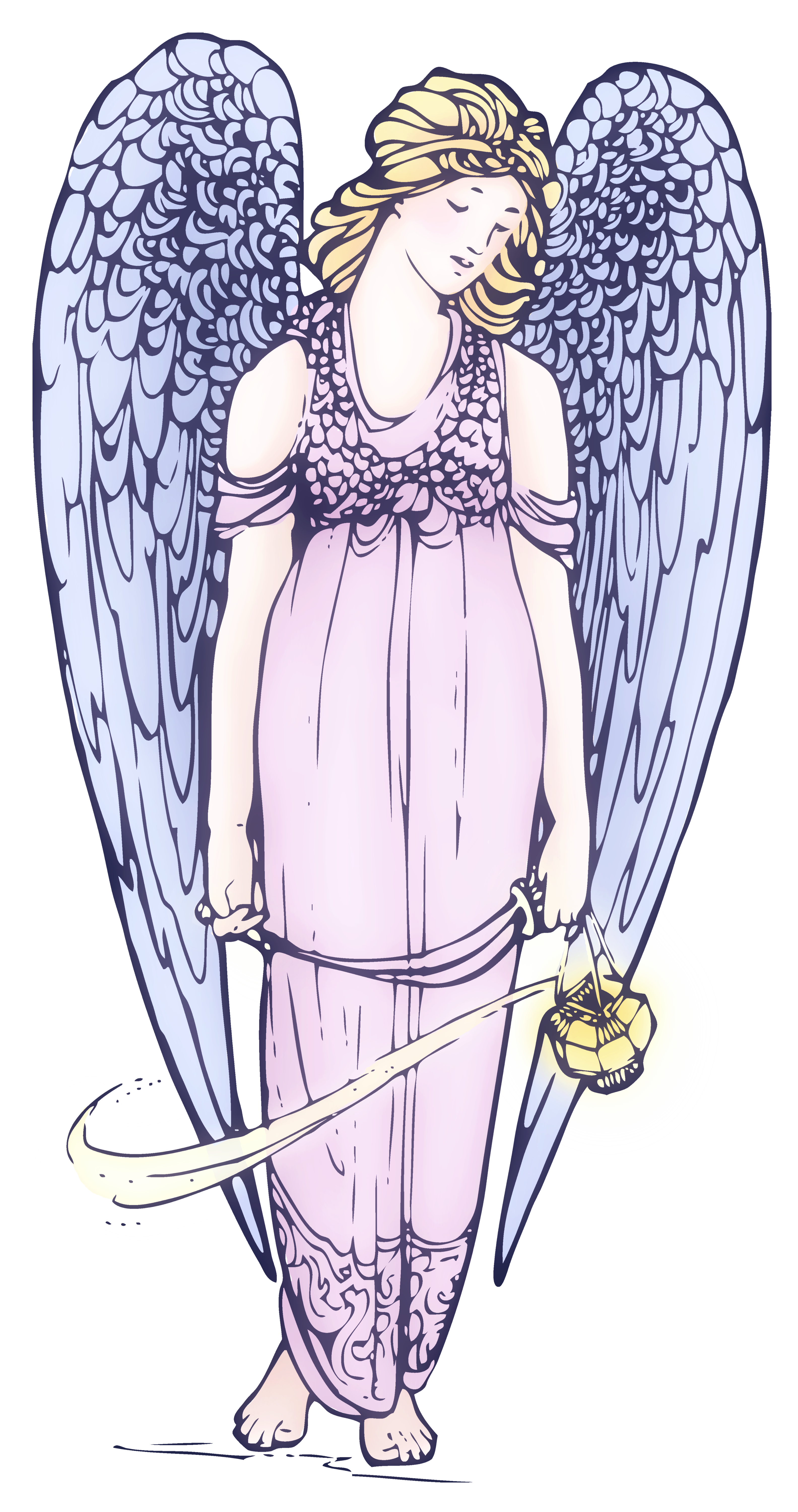 Vintage clipart public domain clipart library Lovely Angel Public Domain Clipart - Free Clip Art clipart library