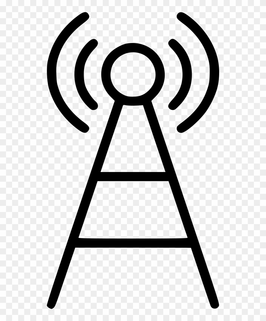 Wifi clipart tower clip art black and white library Communication Tower, Signal Tower, Wifi Antenna, Wifi ... clip art black and white library