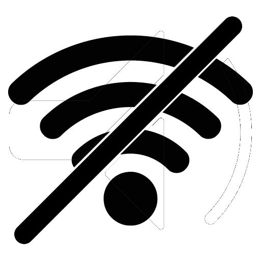 Wifi no signal clipart clip black and white stock Clipart no wifi - Clip Art Library clip black and white stock