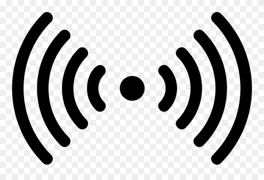 Icon signal clipart image black and white library Wi-fi Computer Icons Hotspot Wireless Signal - Transparent ... image black and white library
