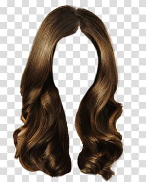 Wig clipart transparent background jpg free Hair , brown wig transparent background PNG clipart | HiClipart jpg free