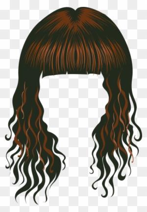 Wig clipart transparent background svg black and white library Wigs Clipart, Transparent PNG Clipart Images Free Download ... svg black and white library