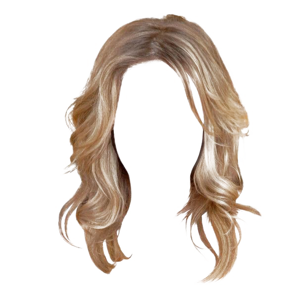 Wig clipart transparent background svg black and white download Hairstyle Wig Barrette - Women Hair Transparent Background ... svg black and white download