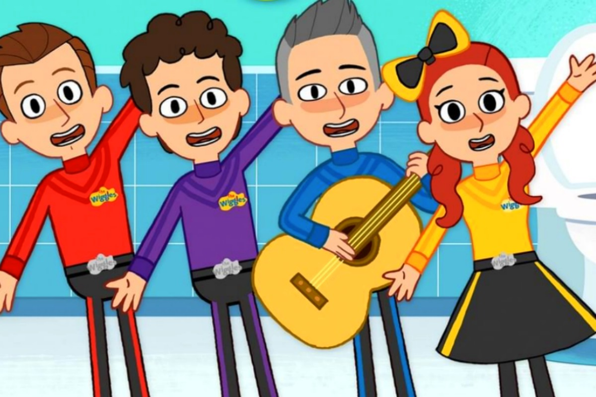 Wiggle challenge clipart clipart free The Wiggles 2019 Toilet Training song: a catchy tune to help ... clipart free