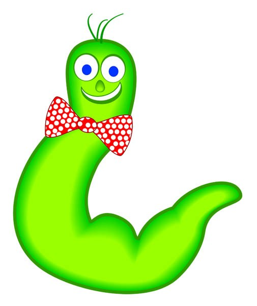 Wiggly clipart jpg library Wiggly worm clipart 1 » Clipart Portal jpg library