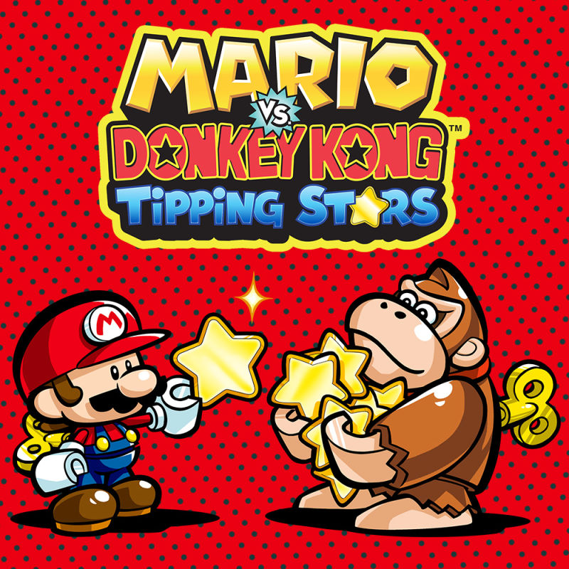 Wii clipart covers download clipart royalty free Mario vs. Donkey Kong: Tipping Stars (2015) Wii U box cover ... clipart royalty free