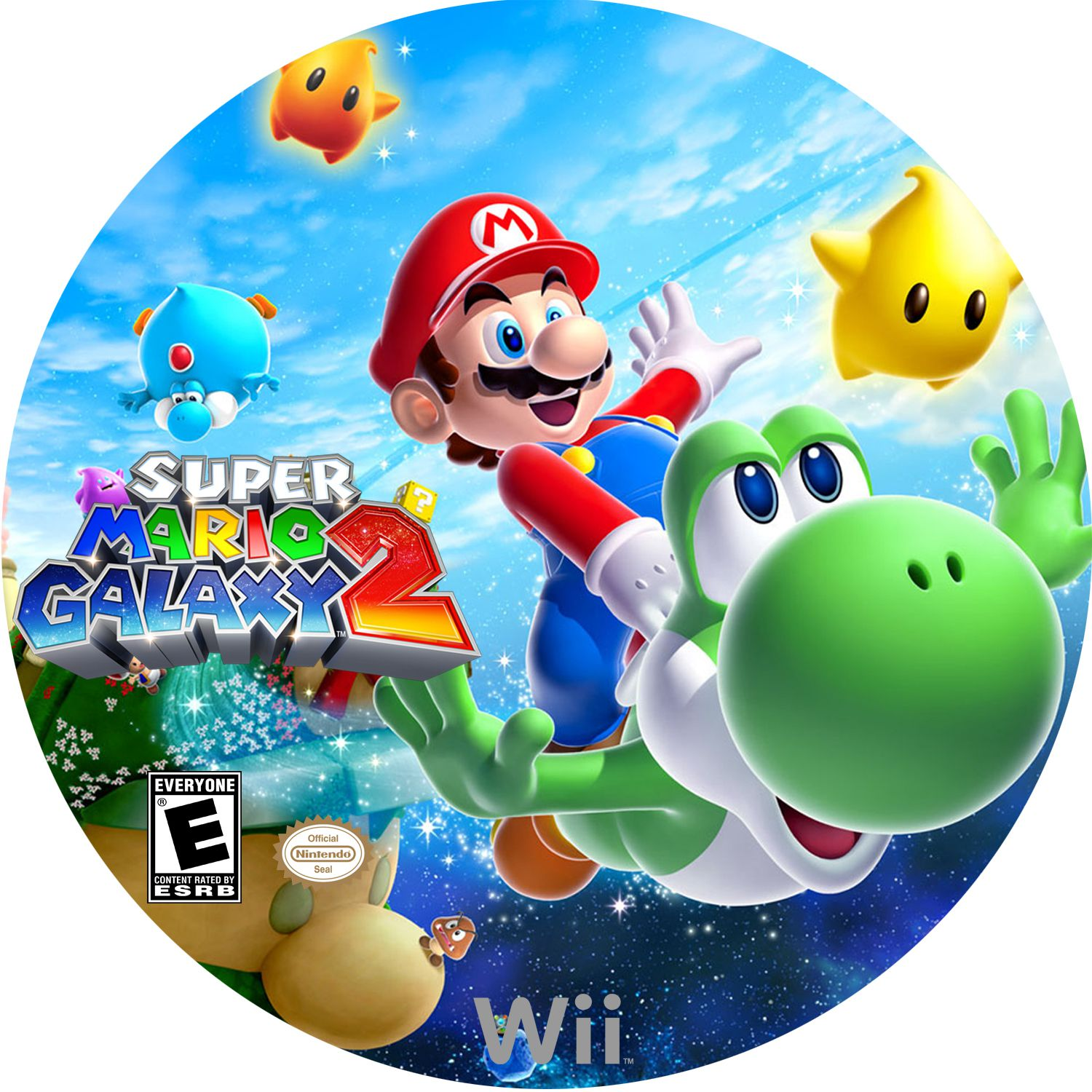 Wii clipart covers download image royalty free download COVERS.BOX.SK ::: Super Mario Galaxy 2 (2010) Wii - high ... image royalty free download