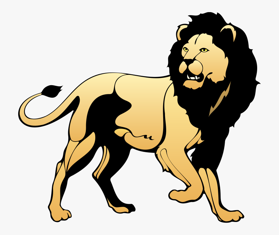 Wild animal cliparts svg transparent library Lion Free Vector - Wild Animals Clip Art #327116 - Free ... svg transparent library