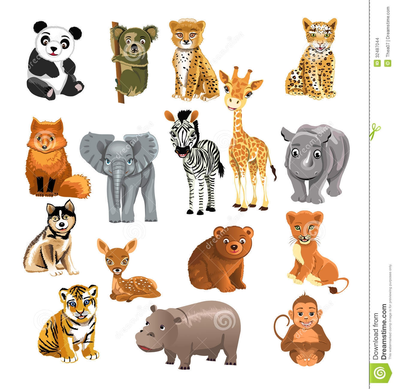 Wild animals clipart images image royalty free download Wild animals clipart 10 » Clipart Station image royalty free download