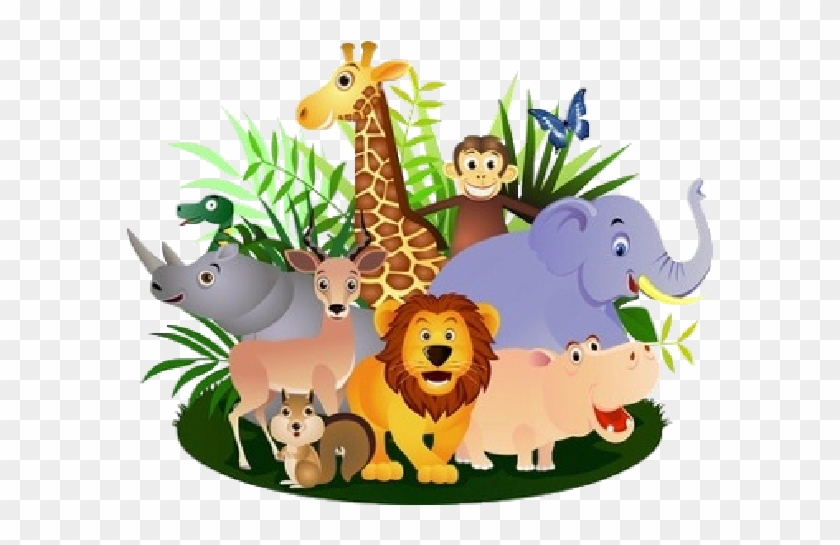Wild animal cliparts image freeuse library 28 Collection Of Wild Animals Clipart Png - Animal Group ... image freeuse library