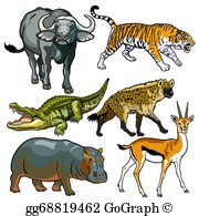 Wild animals clipart images png transparent library Wild Animals Clip Art - Royalty Free - GoGraph png transparent library
