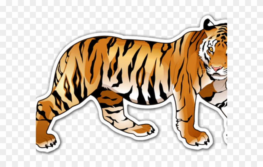 Wild background clipart clip art royalty free download Tiger Clipart Wild Animals - Transparent Background Tiger ... clip art royalty free download