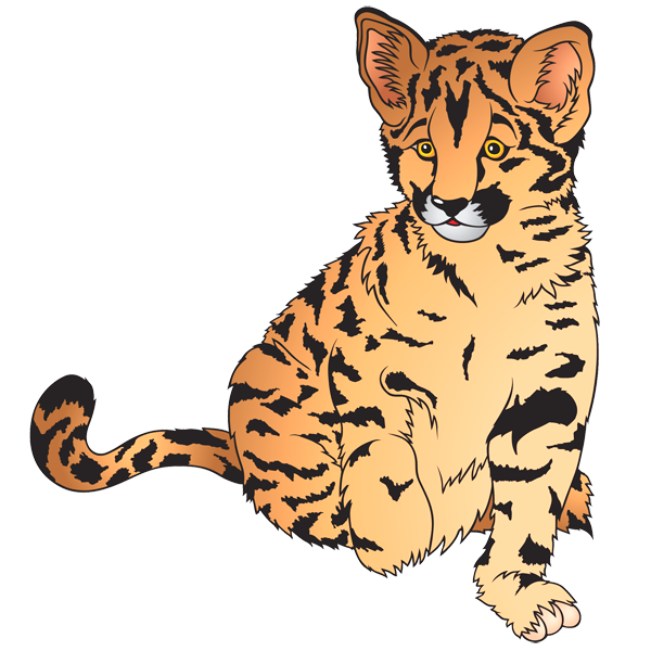Wild cat animal clipart png free Wild Cat Clipart - Clip Art Library png free