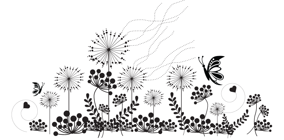 Wild flower clipart black and white image library Wildflower Black And White Clipart & Wildflower Black And White Clip ... image library