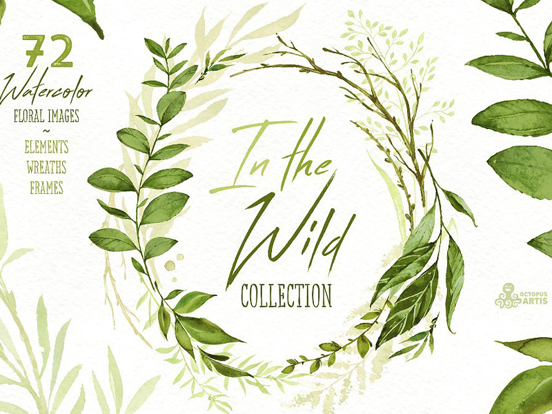 Wild forest clipart clip royalty free library In the Wild. Forest Collection by Graphic Assets on Dribbble clip royalty free library