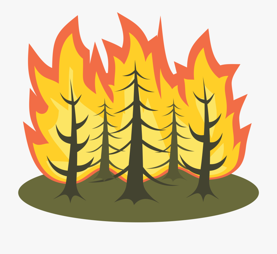 Wild forest clipart jpg freeuse download Forest Fire Clipart - Clip Art Wild Fires #111708 - Free ... jpg freeuse download