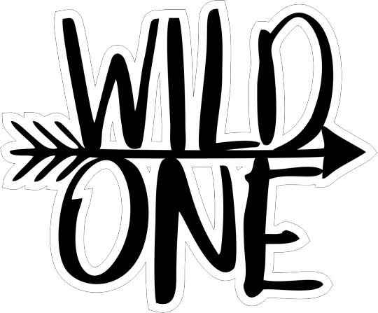 Wild one clipart clip art free library Wild One clip art free library