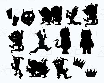 Wild things clipart graphic free Where The Wild Things Are Clipart (101+ images in Collection ... graphic free