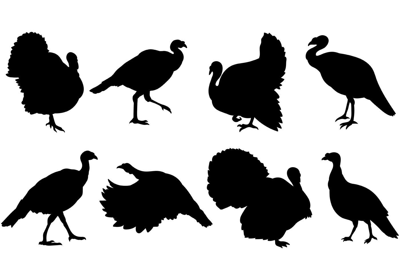 Turkey silhouette clipart free banner free library Best Free Wild Turkey Silhouette Clip Art Drawing ~ Vector ... banner free library