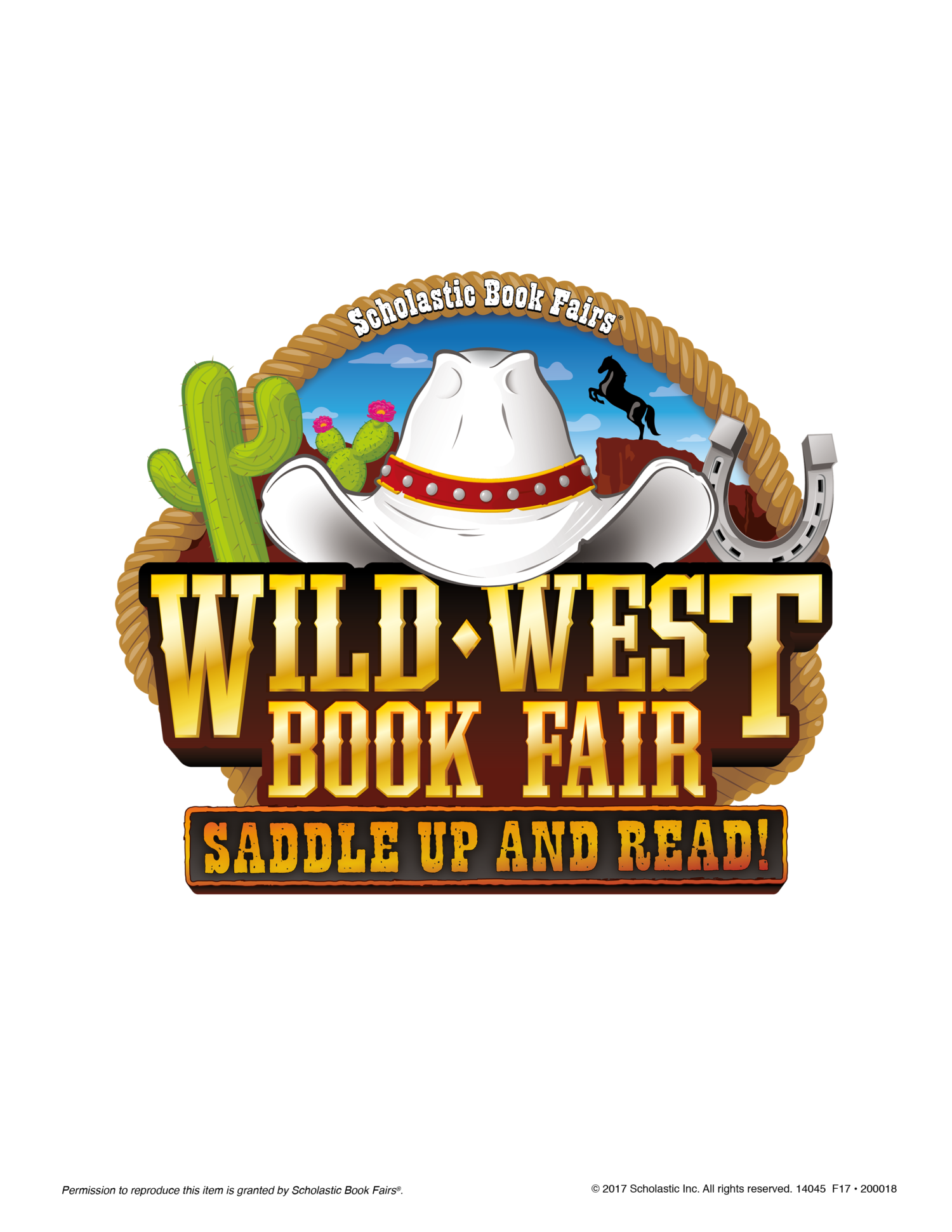 Wild west book fair clipart image black and white download Wild West Book Fair - Patterson Elementary image black and white download