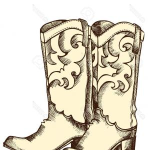 Wild west boots clipart picture freeuse download Cowboy Boots Guns Other Wild West Objects Cartoon Style ... picture freeuse download