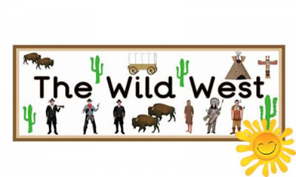 Wild west heading clipart clip art royalty free download Wild West\' Display Heading/ Classroom Banner - Happy ... clip art royalty free download