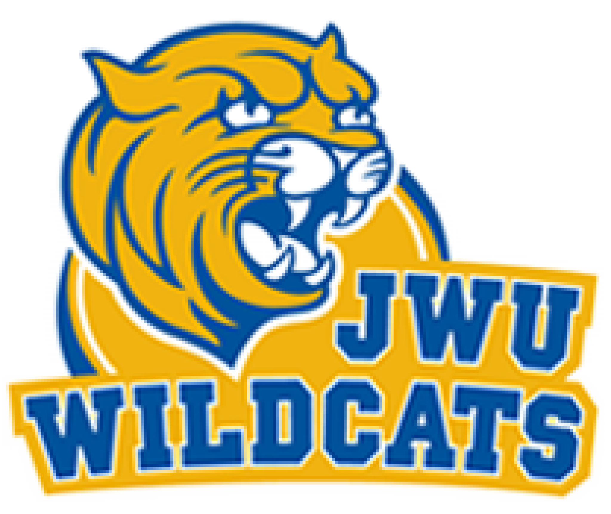 Wildcat basketball clipart clipart black and white Johnson & Wales University (FL) clipart black and white