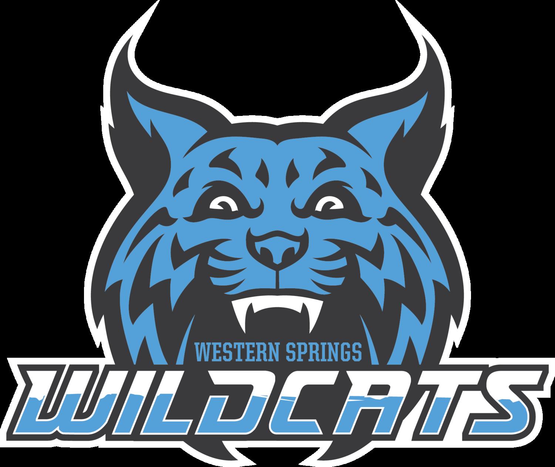 Wildcat basketball clipart jpg freeuse download Western Springs Wildcats jpg freeuse download