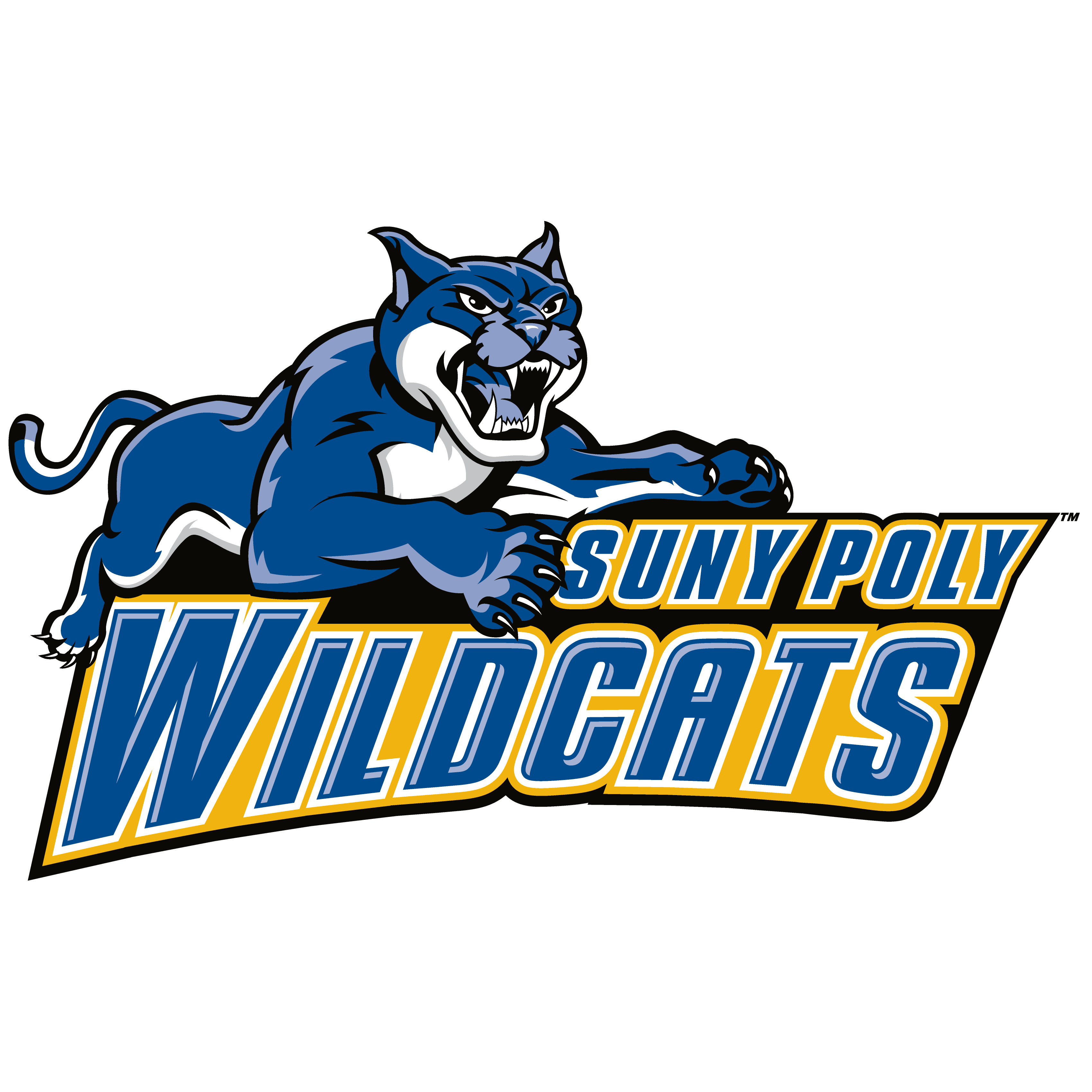 Wildcat basketball clipart clip free library SUNY-Polytechnic Institute Wildcats Womens College Volleyball - SUNY ... clip free library