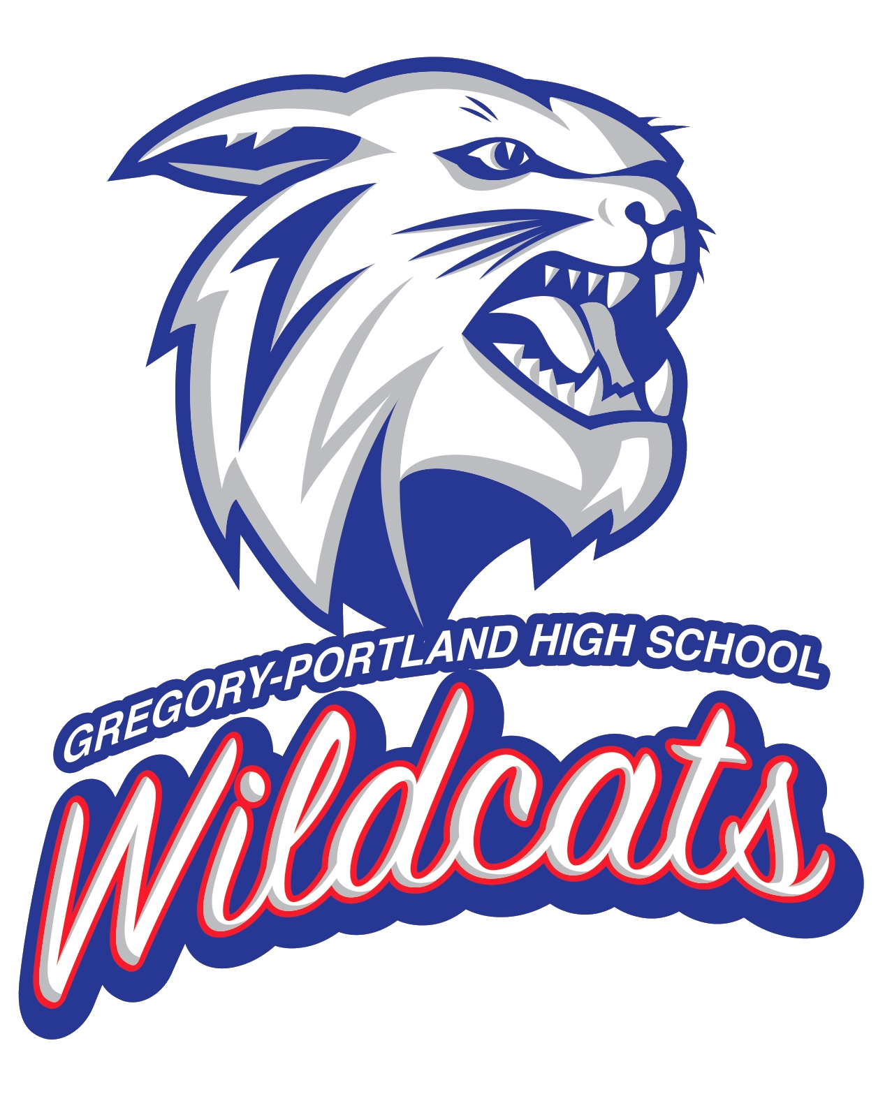 Wildcat football clipart clipart freeuse download The Gregory-Portland Wildcats - ScoreStream clipart freeuse download